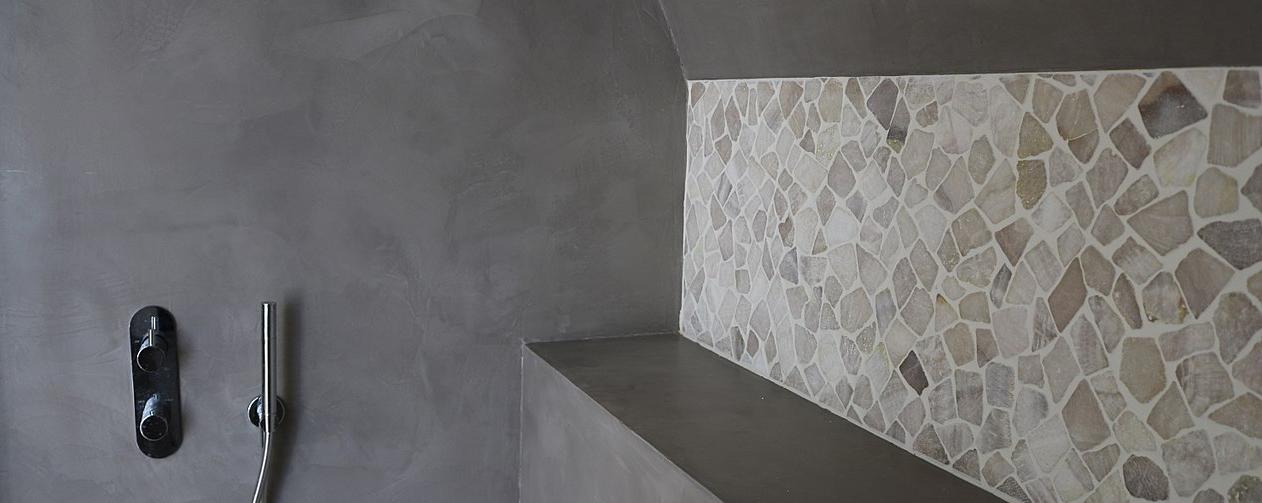 Salle de bain en béton ARTICIMO Ciré