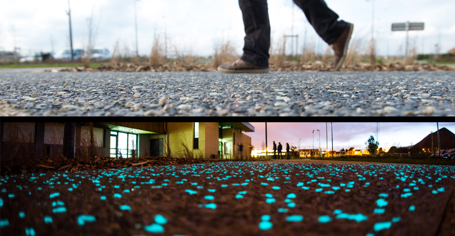 Jour/Nuit béton ARTICIMO Luminescent