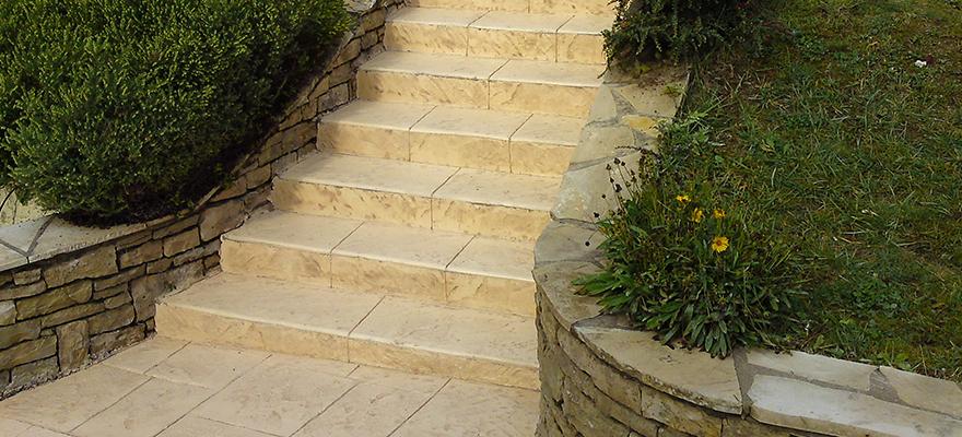 Escaliers en béton ARTICIMO Imprimé