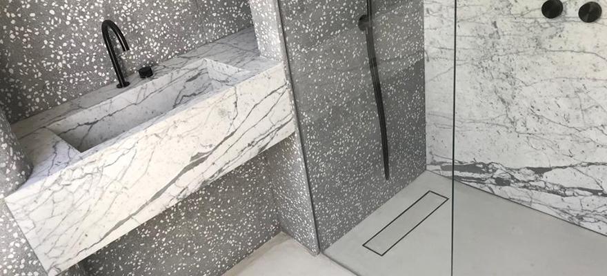 Salle de bain en béton ARTICIMO Poli