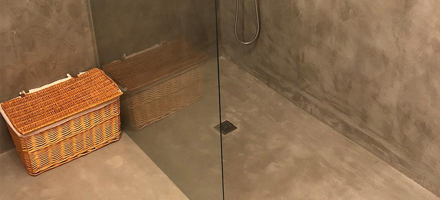 Bac à douche en béton ARTICIMO Ciré