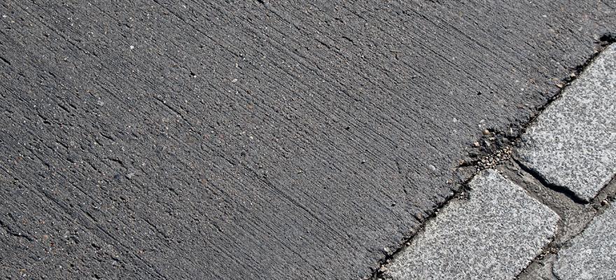 Trottoir en béton ARTICIMO Texturé